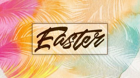 Watercolor Easter slide (77359)