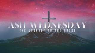 Mountain Cross Ash Wednesday