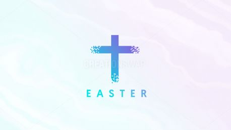 Pixel Easter Graphic (77512)