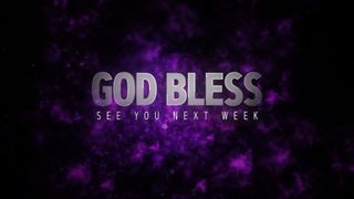 Holy Week (God Bless)
