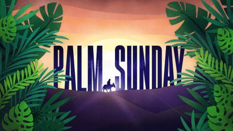 Kids Palm Sunday Slide (77810)