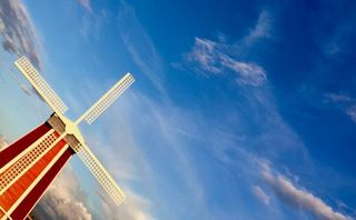 Windmill Background