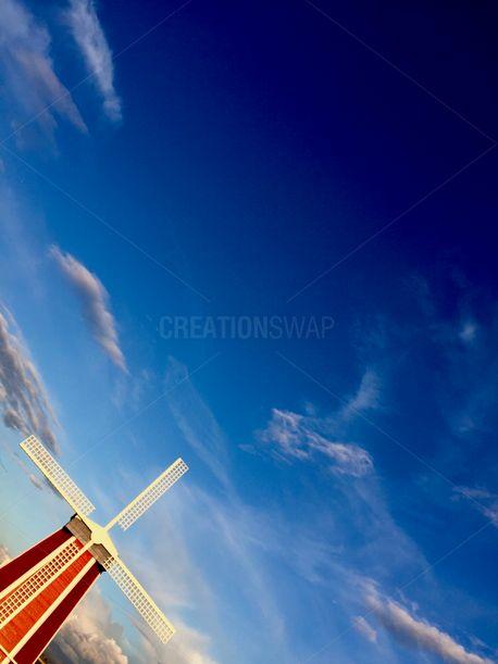 Windmill Background (77891)