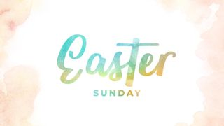 Easter Sunday Watercolor