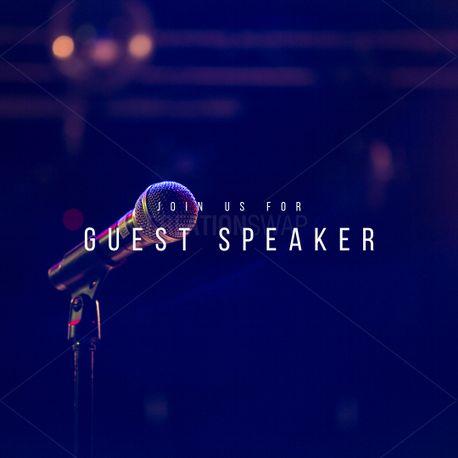 Guest Speaker (78492)