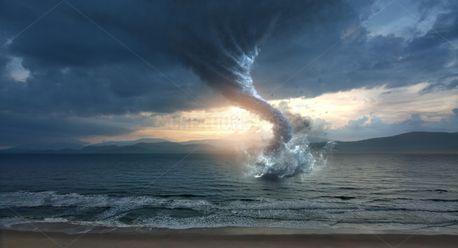 Tornado over the ocean (78510)