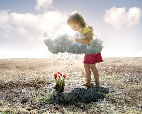 Watering the flowers (78512)