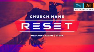 Reset Slide + Logo