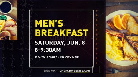 Men's Breakfast (78850)