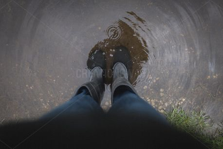 Standing in a puddle (78910)