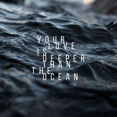 Deeper than the ocean (79043)