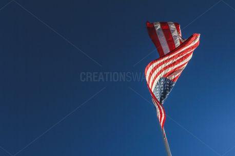 American Flag From Below (79109)