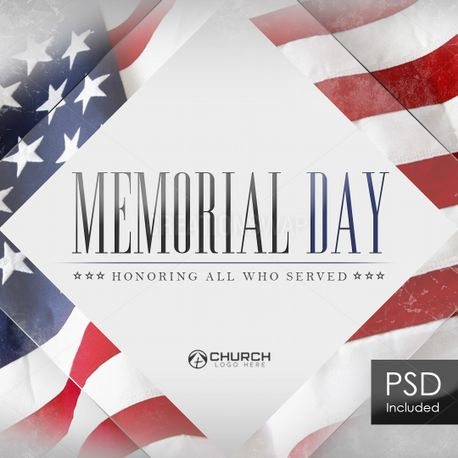 Memorial Day - Honor Social (79268)
