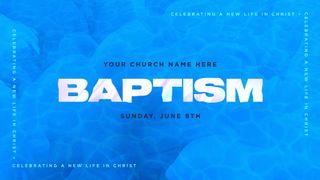 Baptism Blue