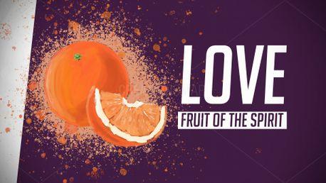 Fruit of the Spirit Love (79410)