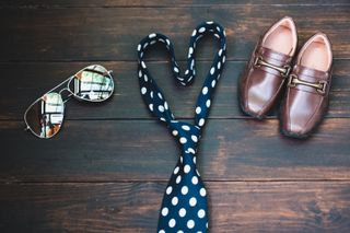 Shoes + Glasses + Tie