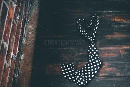 Heart shaped tie (79472)