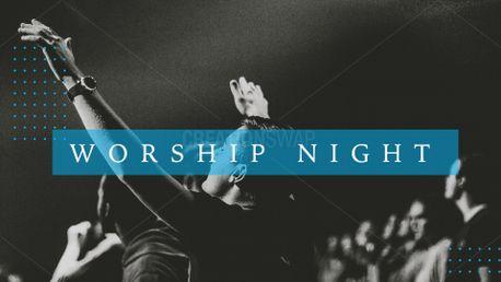 Worship Night - 5 slides (79571)