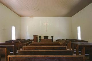 Empty Country Church