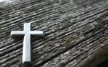 Cross on Wood (79834)