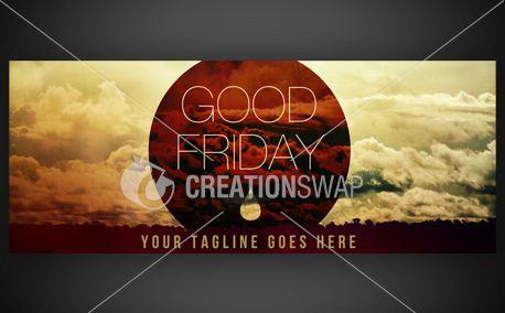 Good Friday | 3'x8' Banner (8036)