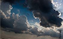 Sky Over Dirt Road