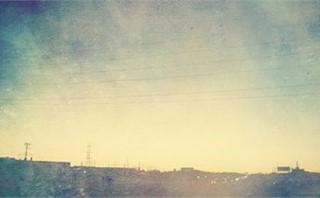 city traffic in fog