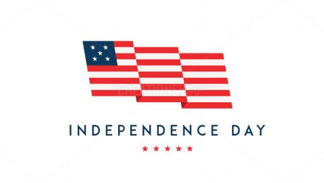 Fourth of July - Flag (80031)