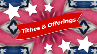 Flag Tithes and Offerings