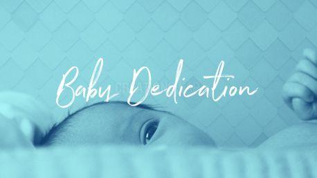 Baby Dedication (80070)