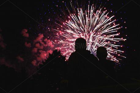 Fireworks Silhouette (80152)