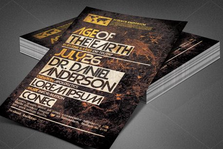 Age of the Earth Church Flyer (80171)