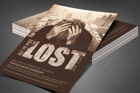 All is Not Lost Church Flyer (80172)