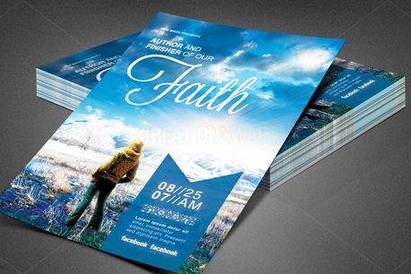Author of Our Faith Flyer (80175)