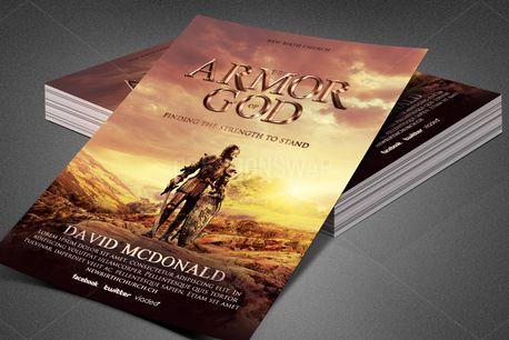 Armor of God Church Flyer  (80393)