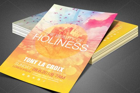 Beauty of Holiness Flyer (80396)