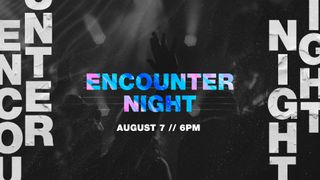 Encounter Night 2019 Slide