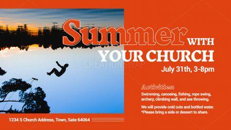 Summer Church Slide (80524)