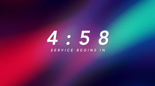 Colorful Clouds Countdown