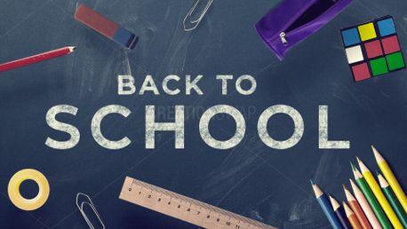 Back to School - Chalkboard (80627)