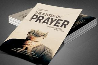 The Power of Prayer Flyer