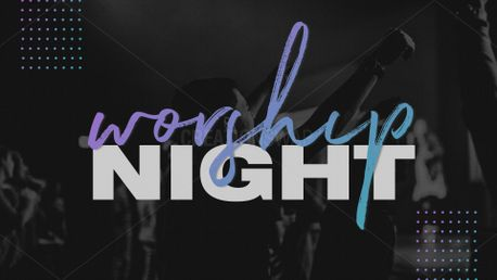 Worship Night - Purple & Teal (80658)