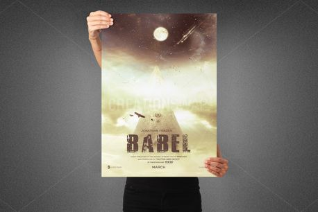 Babel Movie Poster Template (80659)