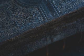 Old Bible Binding