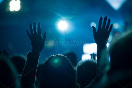 raised hands in worship (81281)