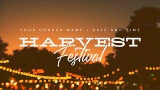 Harvest Festival - 01