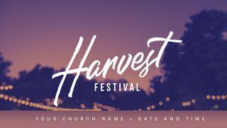 Harvest Festival - 02