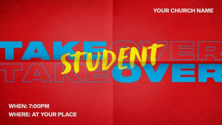 Student Takeover (81366)