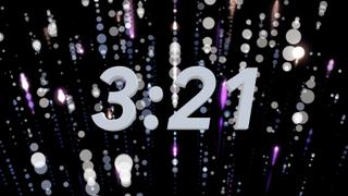 Falling Dots Countdown