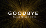 """Space """"Goodbye"""" Motion Title (81593)"""